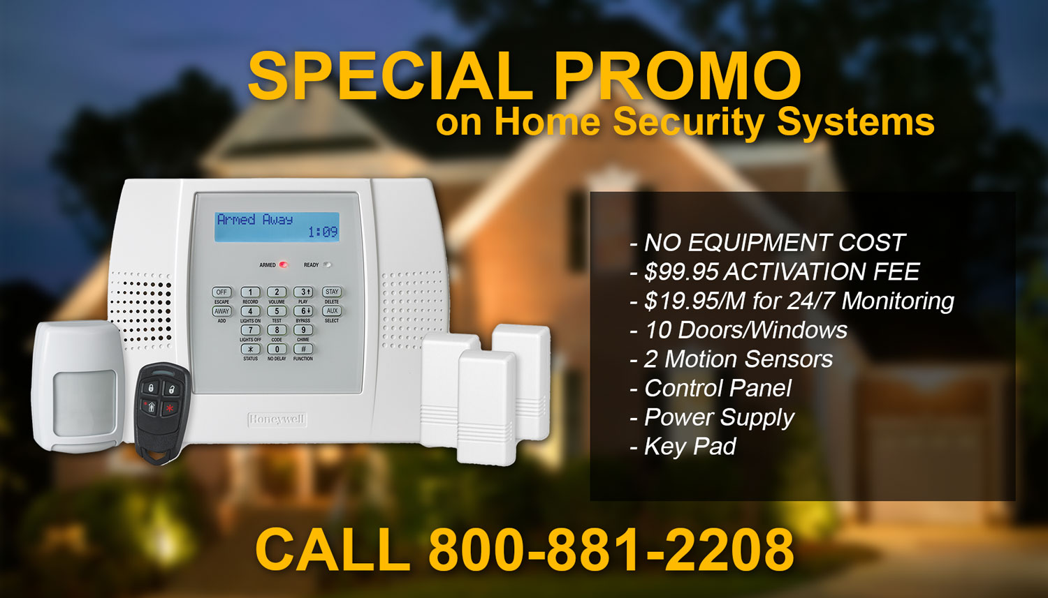 Security system store discount coupons
